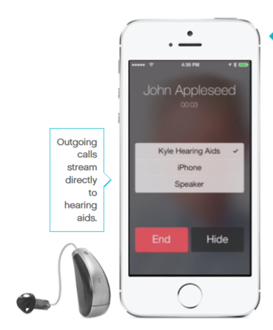 Oticon Bluetooth Hearing Aids