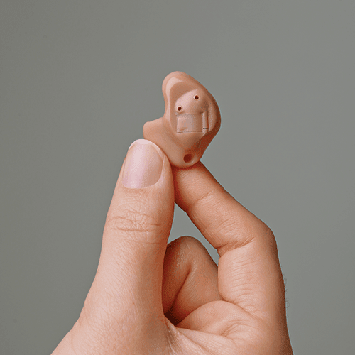 ITE hearing device