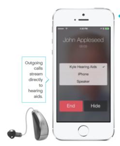 Bluetooth hearing aid